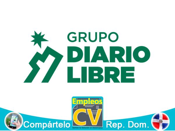 GRUPO DIARIO LIBRE Tiene Vacante, Aplique Ya!