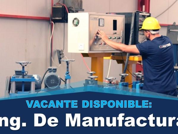 Ingeniero Ingeniera de Manufactura