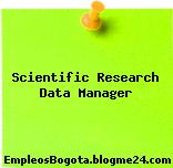 Scientific Research Data Manager