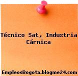 Técnico Sat, Industria Cárnica