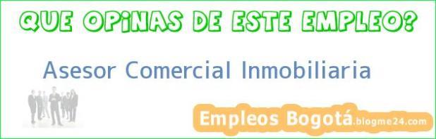 Asesor Comercial Inmobiliaria