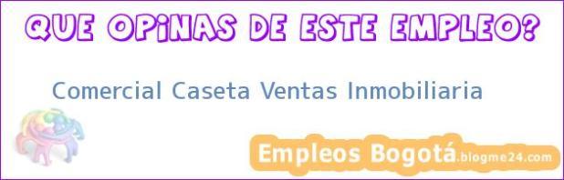 Comercial Caseta Ventas Inmobiliaria