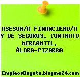 ASESOR/A FINANCIERO/A Y DE SEGUROS. CONTRATO MERCANTIL. ÁLORA-PIZARRA