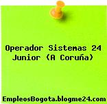 Operador Sistemas 24 Junior (A Coruña)