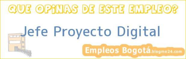 Jefe Proyecto Digital