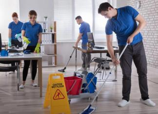 operaria de limpieza cleaning operator cleaning lady janitor cleaning staff