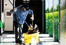 operario de limpieza Janitor cleaning satff personal de limpieza masculino