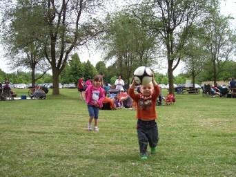 Enfants ballons