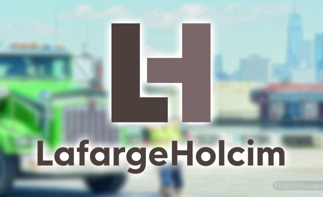 LafargeHolcim Recrute Plusieurs Profils