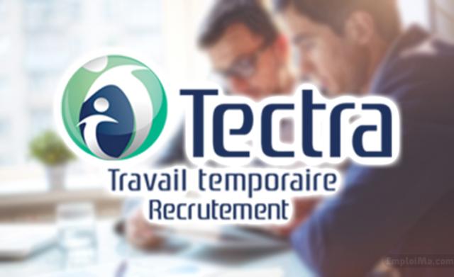 Tectra recrute des Commerciaux et un Agent Moyens Généraux