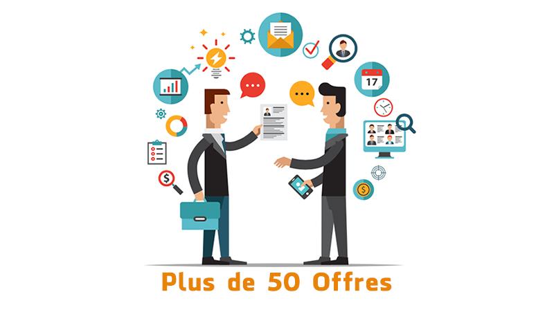 أزيد من 50 فرصة عمل في مختلف المدن