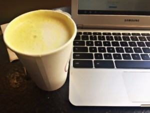 A Turmeric Latte