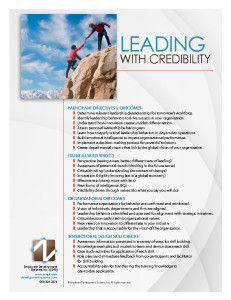 Leading with Credibility