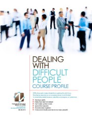 Dealing with difficult personalities pdf writer