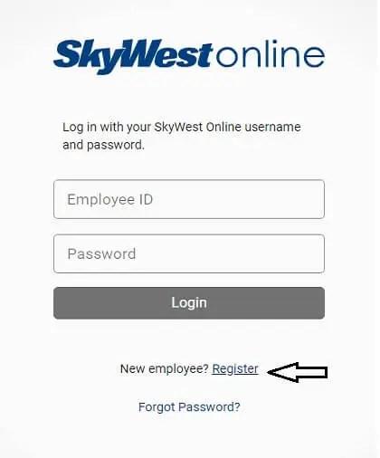 skywest employee register