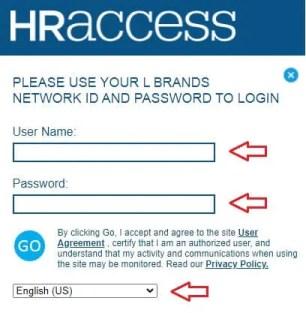 Hr Access lb Login