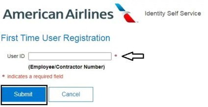 American Airlines Registration