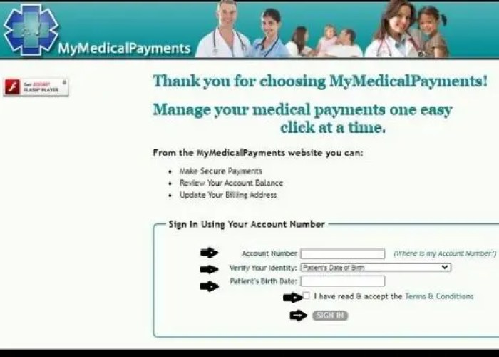 MyMedicalPayments Bill Pay Online Portal