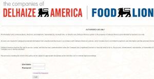 MyHR4U Food Lion Associate Login
