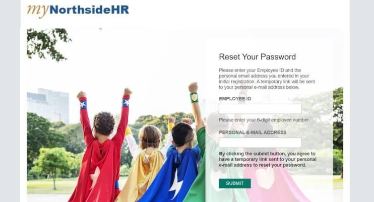 Mynorthsidehr Employee Login Password Reset