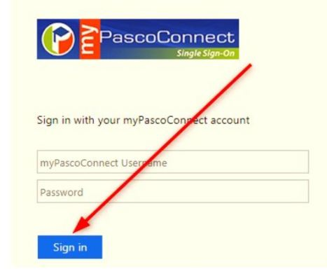 MyPascoConnect Portal