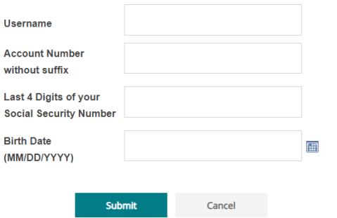 Sdccu account login password reset