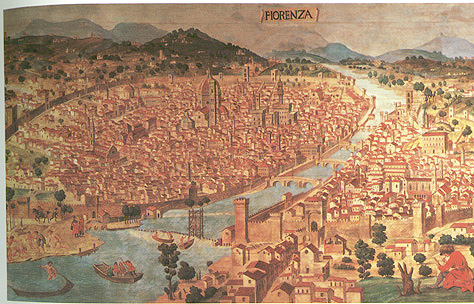 Image result for medieval florence painting