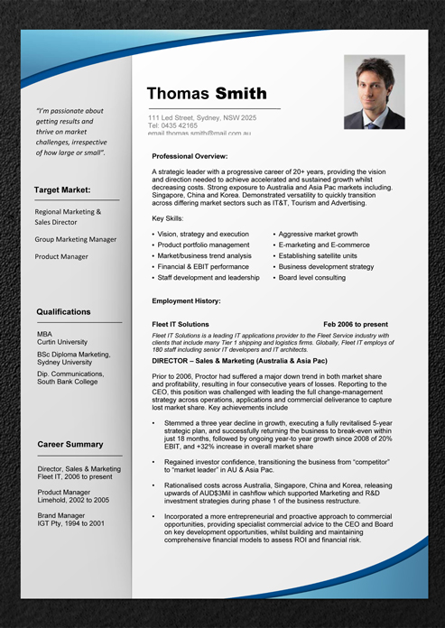 Free Australian Resume Template Download. school student resume ...
