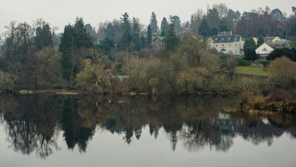 River Tay Reflection