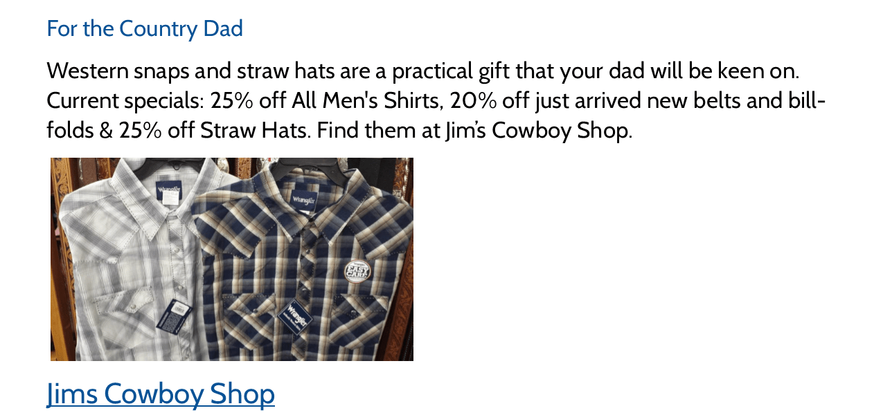Shop Local: 9 Father's Day Gift Ideas