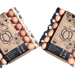 Bandejas de Huevos San Rosendo Segunda Gallina Feliz - Tienda Gourmet Emporio LaMarta