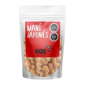 Maní Japonés Koe Nuts y Snacks - Tienda Gourmet Emporio LaMarta