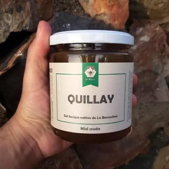 Miel cruda monofloral Quillay El Rusc - Tienda Gourmet Emporio LaMarta