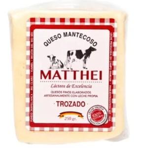 Queso Mantecoso Trozado Matthei - Tienda Gourmet Emporio LaMarta