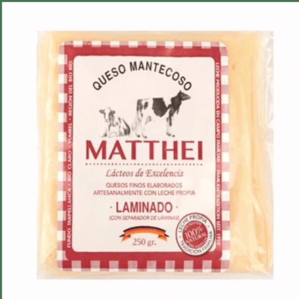Queso Mantecoso Laminado Matthei - Tienda Gourmet Emporio LaMarta
