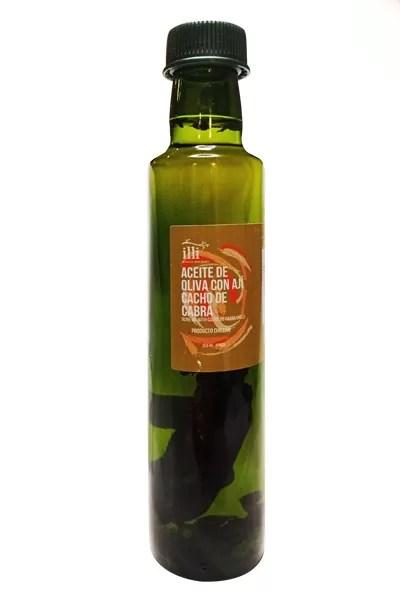 Aceite de Oliva con Aji Cacho de Cabra illi Gourmet - Tienda Gourmet Emporio LaMarta