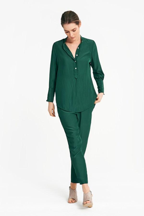 BLas shirt in emerald