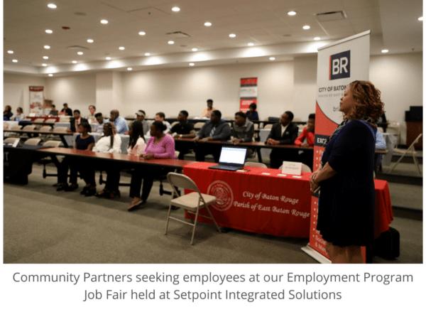 Community Partners at Job Fair