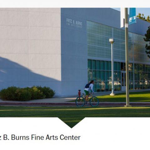 College School Building Fine Arts Center