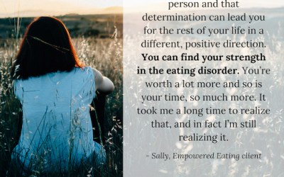 Successful Client Sally Shares Her Story