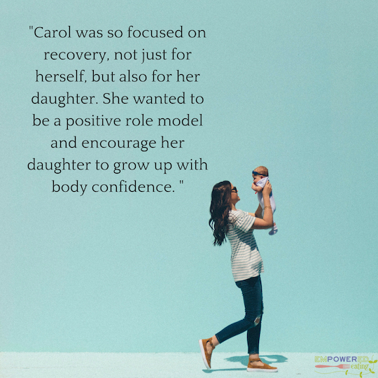 Carol's Motivation to Body Confidence and Recovery