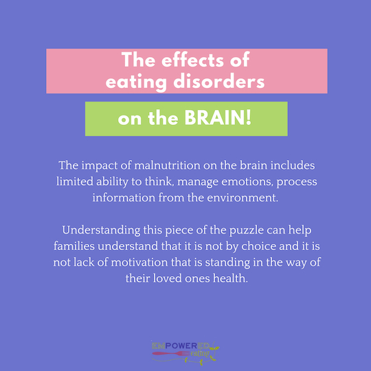 How Eating Disorders Affect Your Brain