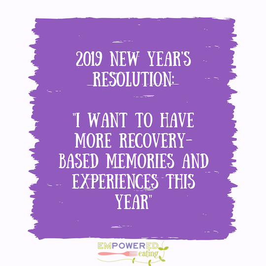 Prioritizing your Recovery this Year without Falling into the 'New Years Resolutions' Trap