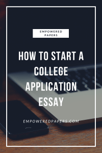 Learn how to make your college application essay stand out from the crowd and WOW the college of your dreams.