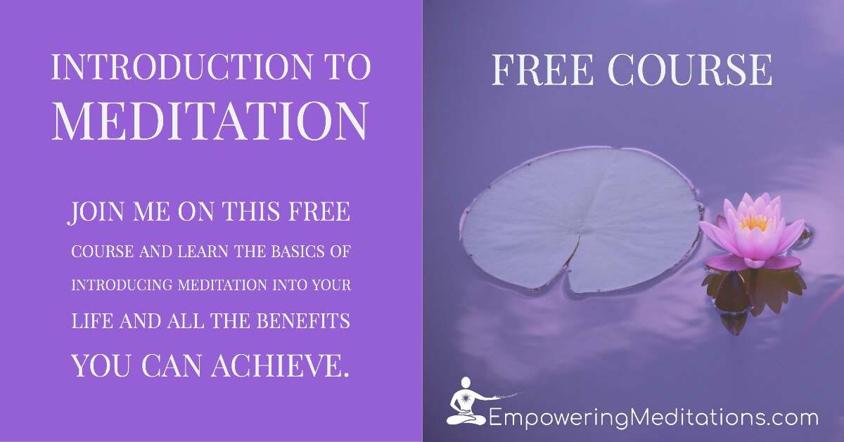 Introduction to Meditation Free Online Course 20181107