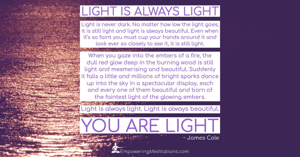 Meme - Light is always light - Page