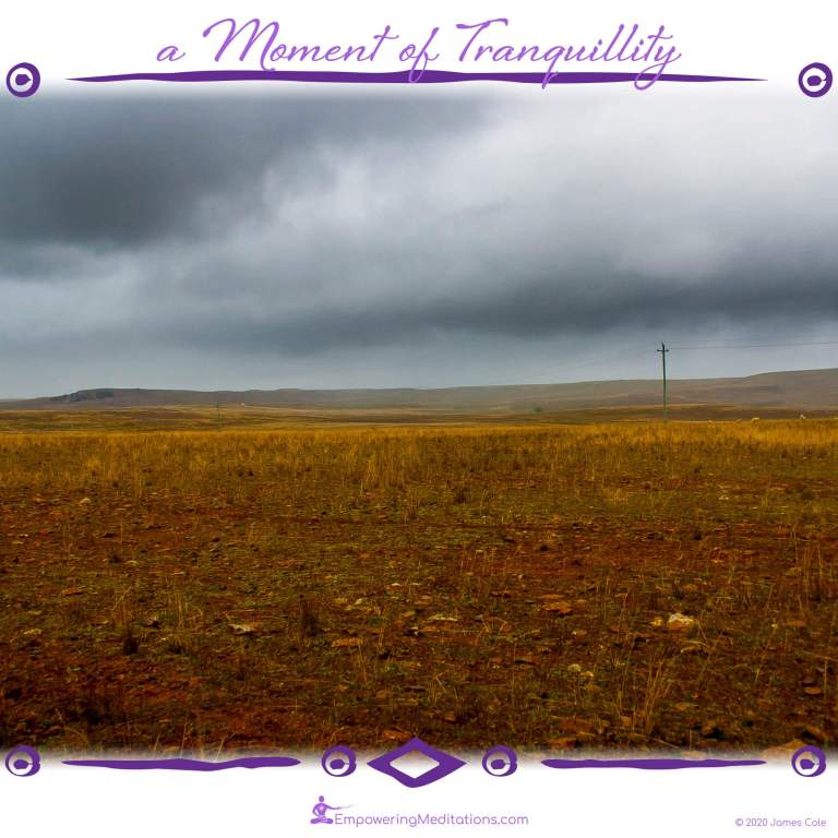 a Moment of Tranquillity - Desolate and Beautiful