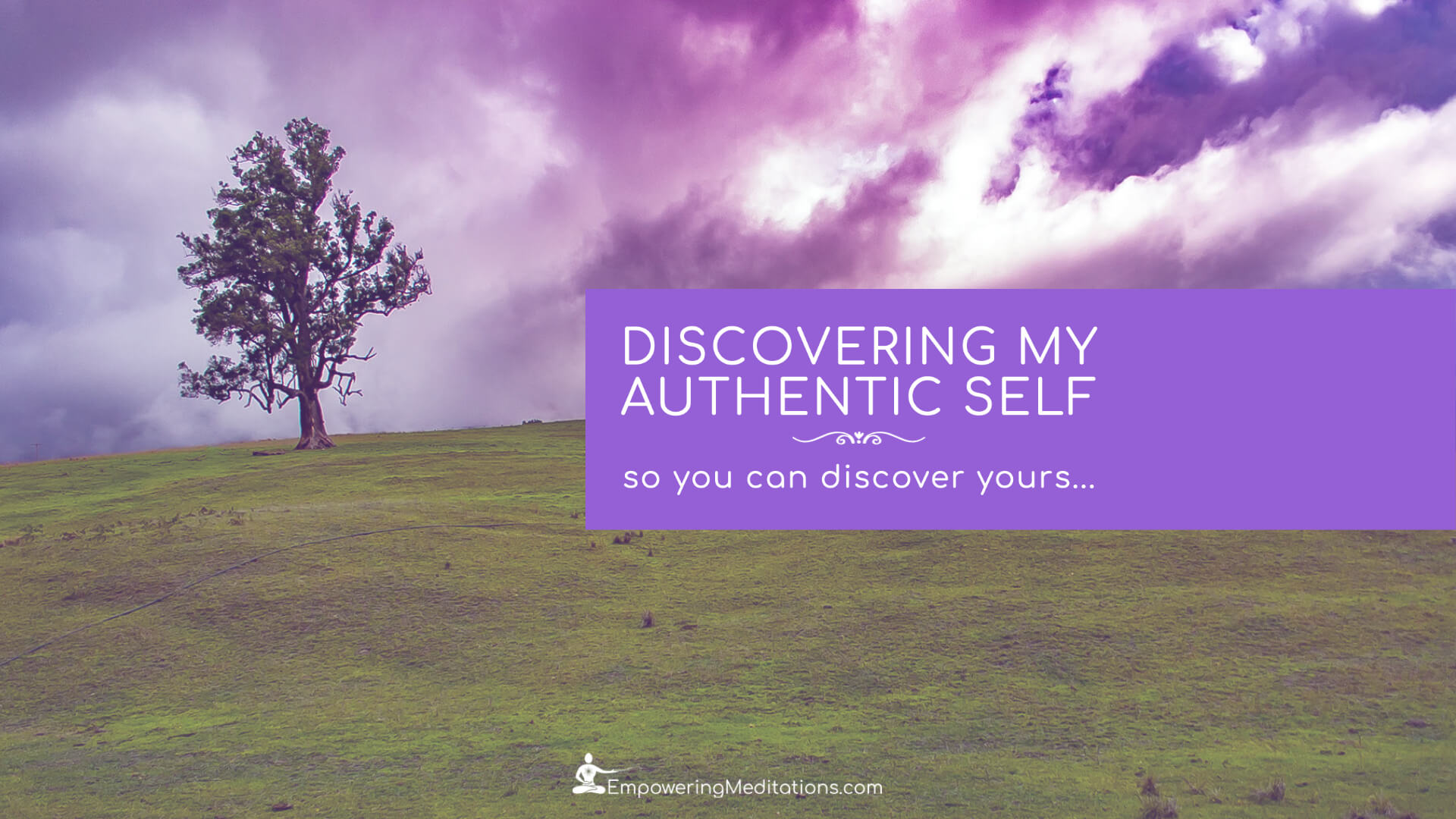 Blog - Discovering my true authentic self - Page