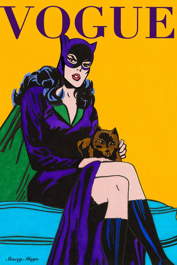 """Catwoman 12"""" x 18"""""""