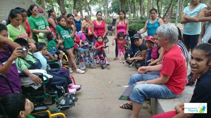 Inclusive play Santa Cruz de la Sierra, Bolivia